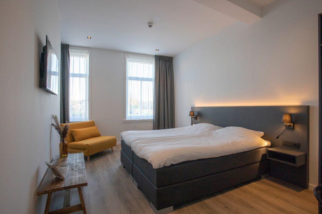 Hotel Tholen slaapkamer Optimist Kaaij 2